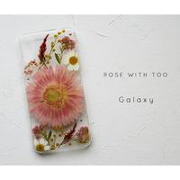 【リング不可】Galaxy /   押し花スマホケース 20200129_8