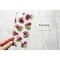 Galaxy /   押し花スマホケース  200603_7