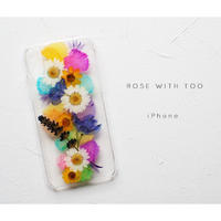 iPhone / 押し花ケース20191002_4