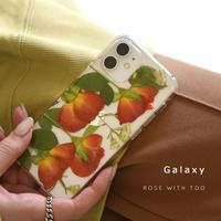 Galaxy /   押し花スマホケース  210224_6