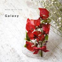 Galaxy /   押し花スマホケース  210310_2