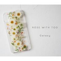 Galaxy /   押し花スマホケース 20191127_3