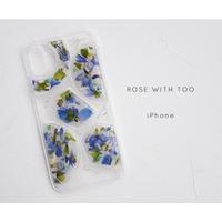 【リング不可】iPhone / 押し花ケース20191211_3