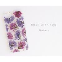 【再販】Galaxy /   押し花スマホケース 190508_5