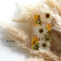 Galaxy /   押し花スマホケース  201007_6