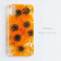 Galaxy / 押し花 スマホケース0327_4