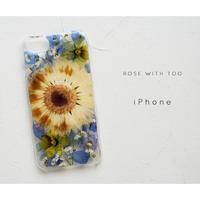 【リング不可】iPhone / 押し花ケース 20200422_1