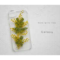 Galaxy /   押し花スマホケース 20200304_6