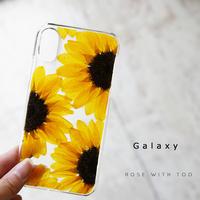 Galaxy /   押し花スマホケース  200617_4