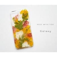 Galaxy /   押し花スマホケース 20200304_4