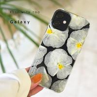Galaxy /   押し花スマホケース  210428_6