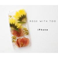 iPhone / 押し花ケース20190717_1