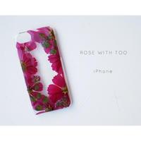 iPhone / 押し花ケース20191030_3