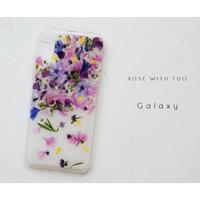Galaxy /   押し花スマホケース  200527_8
