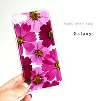 Galaxy /   押し花スマホケース  201007_2