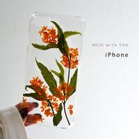 iPhone / 押し花ケース 201021_1
