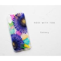 Galaxy /   押し花スマホケース 20191002_7