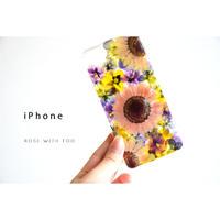 【リング不可】iPhone / 押し花ケース 200610_3