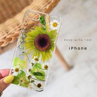【リング不可】iPhone / 押し花ケース 201125_2