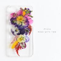 iPhone / 押し花ケース 20190605_5
