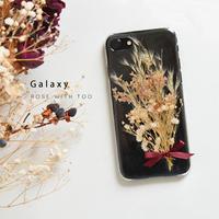Galaxy /   押し花スマホケース  200916_4