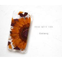 【リング不可】Galaxy /   押し花スマホケース 20191204_5
