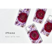 【リング不可】iPhone / 押し花ケース 200527_1