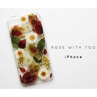 iPhone / 押し花ケース20190814_1