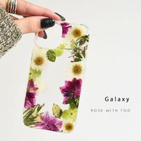 Galaxy /   押し花スマホケース  210120_4