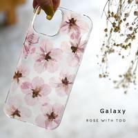 Galaxy /   押し花スマホケース  210421_4