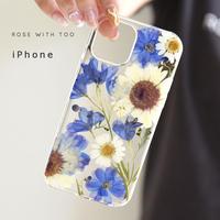 iPhone / 押し花スマホケース 211006_3