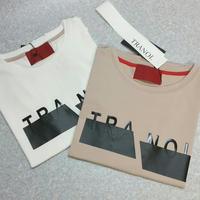 TRANOIビッグロゴTシャツ
