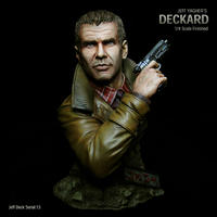 Deckard Bust 完成品 【Serial NO.13】