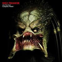 WOLF PREDATOR  Latex Prop Head Complete