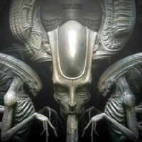 H.R. Giger Alien plaqueキット【入荷中】