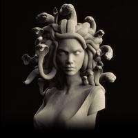 The Gorgon 1/2scale Bust kit【取り寄せ】