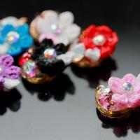 Nailアクセサリー小花 pink