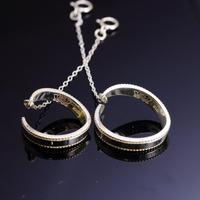 チェーン付きイヤーカフ silver925