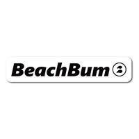 BeachBum ロゴステッカー(縦3cm×横15cm)