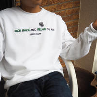 "Vol.48 期間限定 BeachBum  スウェット  ""KICK BACK and RELAX"" Color:ホワイト"