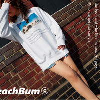 "Beach Bum スウェット ""Dictionary"""