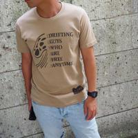 """Vol.43 期間限定 JERRYSMITH  Tシャツ  """"DRIFTING"""" Color:サンドカーキ"""