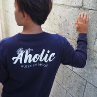 "Vol.45 期間限定 SURFAHOLIC  Tシャツ  ""Built In Mood"" Color:ネイビー"