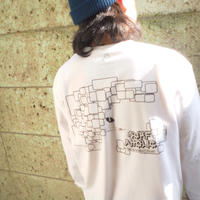"""Vol.9 SURFAHOLIC ロンT  """"TUBE RIDING"""" Color:White"""
