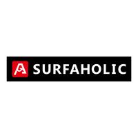 SURFAHOLIC  ロゴステッカー(縦3cm×横15cm)