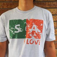 "Vol.39 期間限定SURFAHOLIC  Tシャツ  ""LOVE SEA 2"" Color:アッシュ"