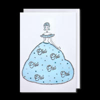 """✦Yurika's Drawing✦ """"OUI DRESS (and you see my feeling)"""" GREETING CARD[L]"""