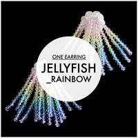 【片耳】JULICA[JELLYFISH_RAINBOW ]