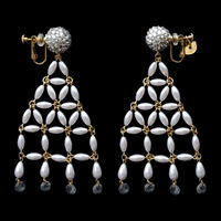 JULICA Earrings | BONBON DRESS_LOOK AT ME