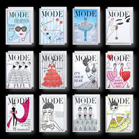 """祝★1周年 """"MODE magazine [1YEAR SET]"""" GREETING CARD[L]"""